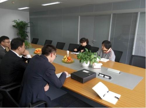 江干区司法局莅临上海建纬(杭州)律师事务所 指导党建工作